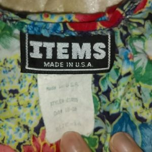 Items Dresses - Vintage, Made in USA, ITEMS Dress